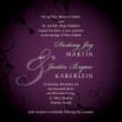 Truyền tải thông điệp mời qua tấm thiệp cưới