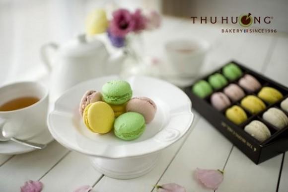 Macaron trong đám cưới, sự biến hóa đầy màu sắc