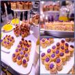 Tháp cupcake ngọt ngào đáng yêu cho ngày cưới