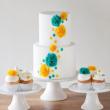 Không khó để tự trang trí bánh cưới