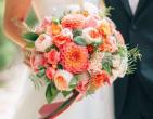 Cách phối hoa cưới cầm tay cẩm tú cầu độc đáo