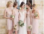 Bí quyết chọn váy cưới cho phụ dâu vào mùa cưới Thu Đông