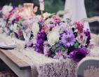 Hoa violet dịu dàng, thủy chung cho lễ cưới lãng mạn