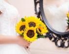 Xu hướng hoa hướng dương cho lễ cưới rực rỡ
