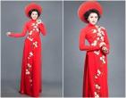 Bí quyết chọn áo dài cưới màu đỏ siêu nổi bật