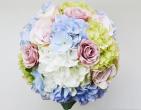 Bí quyết MIX hoa cưới cầm tay cẩm tú cầu cho cô dâu
