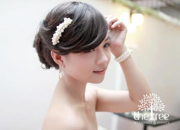 Xu hướng chọn phụ kiện cưới 2013