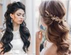 Mẫu tóc cô dâu