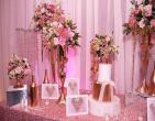 Trang trí tiệc cưới phong cách hoàng gia sang trọng