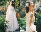 Bí kíp chọn váy cưới phù hợp với tiệc cưới ngoài trời
