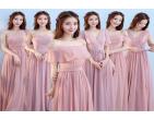Tham khảo 3 kiểu váy phù dâu hồng pastel đẹp dịu dàng và tinh tế