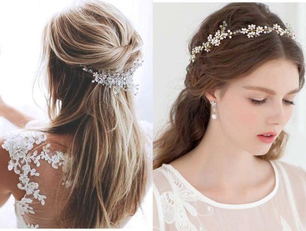Tham khảo những kiểu tóc Hàn Quốc cho cô dâu đẹp dịu dàng
