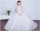 4 kiểu váy cưới giúp cô dâu nhỏ nhắn