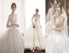Mẫu váy cưới chữ A phù hợp với mọi theme cưới