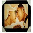 Ấn tượng với tranh cát và tranh gạo dành cho ngày cưới