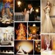 Sang trọng với theme cưới màu vàng đồng