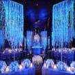 Những cách đem màu xanh dương vào tiệc cưới