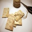 Theme màu gỗ cho ngày cưới với phong cách Vintage