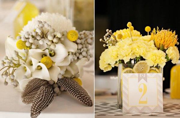 Phụ kiện đám cưới tuyệt đẹp làm từ hoa tươi