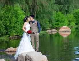 Đến Hồ Cốc chụp hình cưới ngoại cảnh tuyệt đẹp