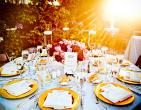 Lưu ý khi chọn thực đơn cho tiệc cưới mùa hè