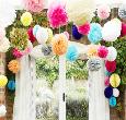 Chọn cổng hoa cưới bằng giấy đẹp cho ngày cưới