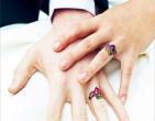 Độc đáo ảnh cưới có hình xăm của cô dâu chú rể