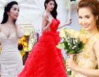 Ngắm những váy cưới tuyệt đẹp của sao Việt năm 2014