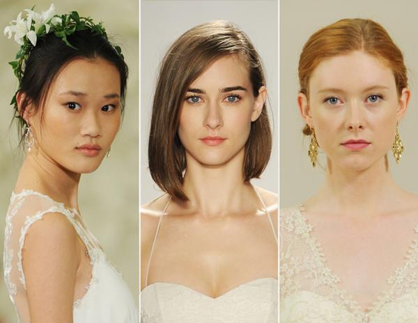Xu hướng trang điểm làm tóc cô dâu mùa cưới 2015