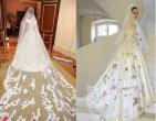 5 chiếc váy cưới ồn ào được chú ý của sao Việt