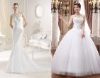 Những mẫu váy cưới hè 2015 giúp cô dâu đẹp lộng lẫy