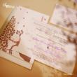 5 phong cách thiệp cưới đẹp 2013