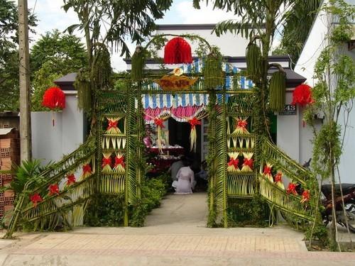 Đám cưới miệt vườn miền Tây Nam Bộ