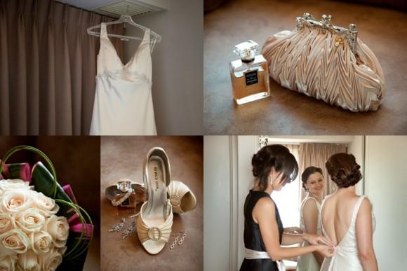 Trước ngày cưới khoảng một tuần bạn nên thử lại váy cưới