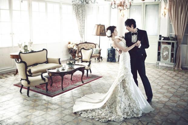 chụp ảnh cưới đẹp phong cách hàn quốc