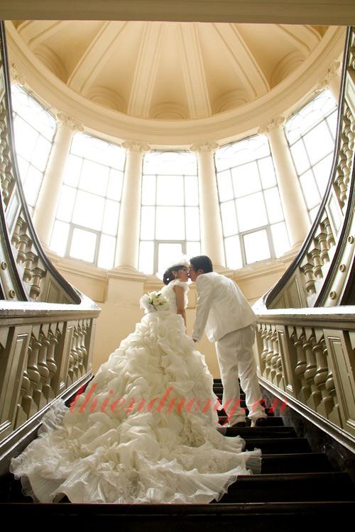 Chụp ảnh cưới ở Bảo Tàng Thành phố Hồ Chí Minh