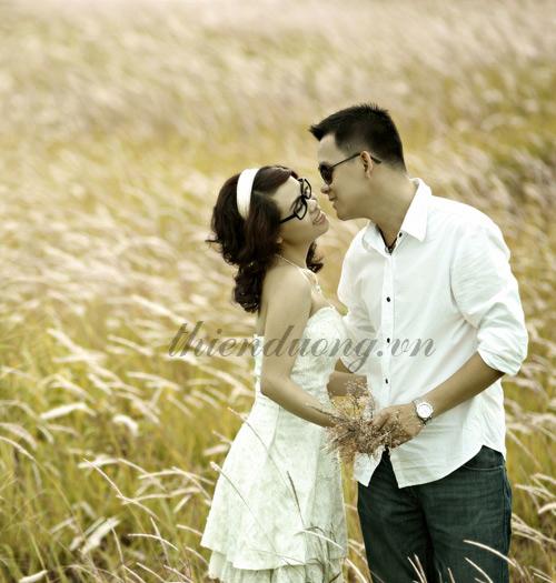 Chụp ảnh cưới ở Cánh Đồng Lau