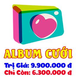 Bảng giá dịch vụ Album Cưới