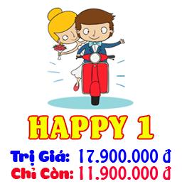 Gói Dịch Vụ Cưới Trọn Gói Happy 2