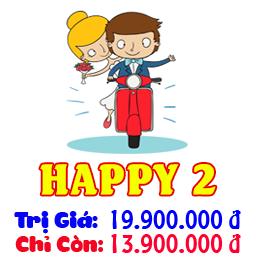Gói Dịch Vụ Cưới Trọn Gói Happy 3
