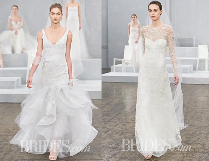 Những xu hướng váy cưới xuân 2015 mới nhất